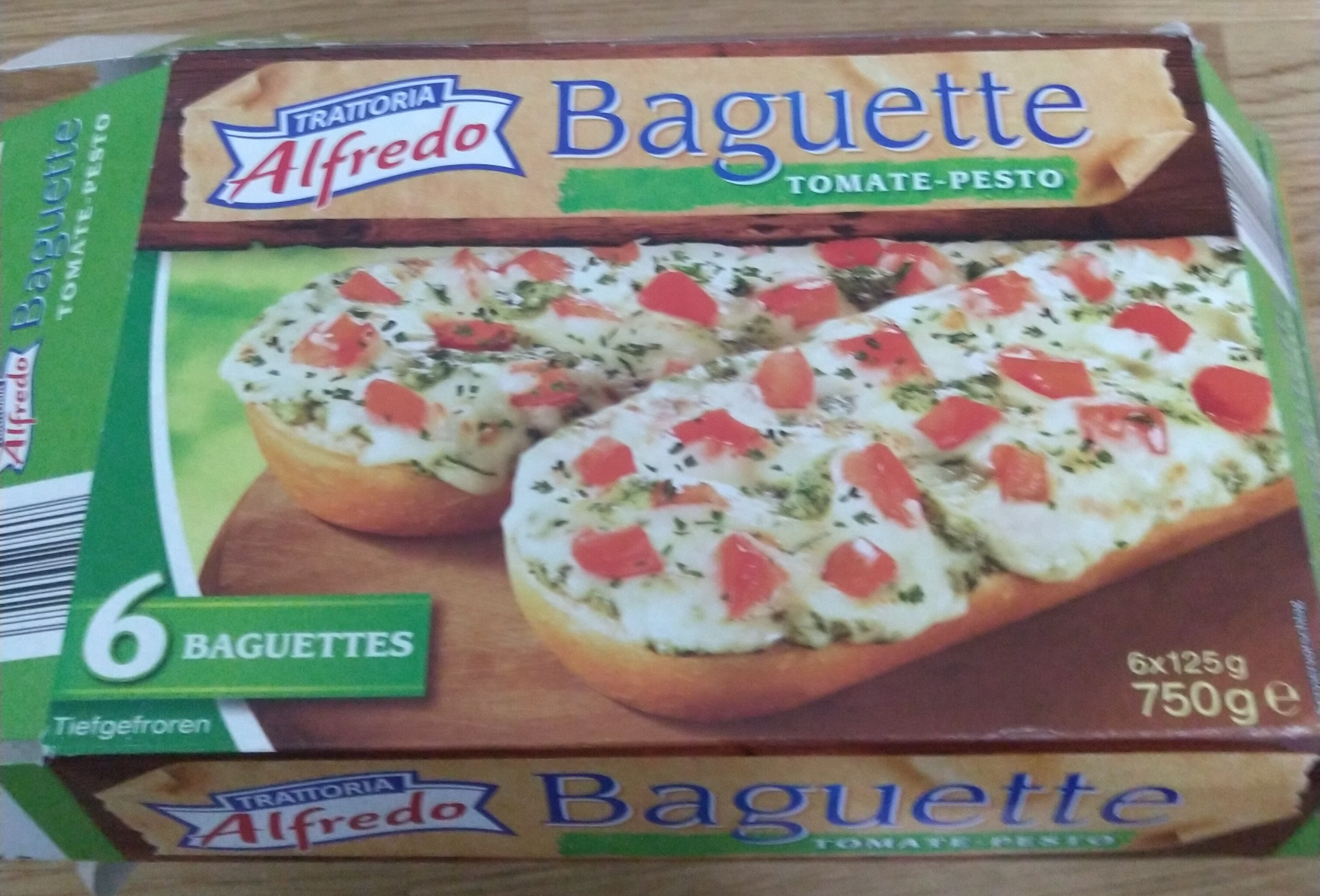 Baguette Tomate Pesto - Product