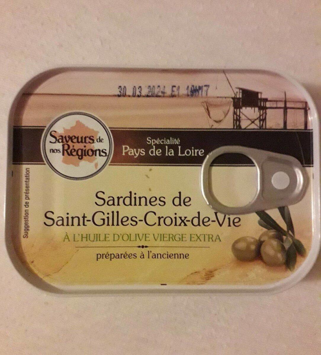 Sardines de Saint Gilles Croix de Vie - Product - fr