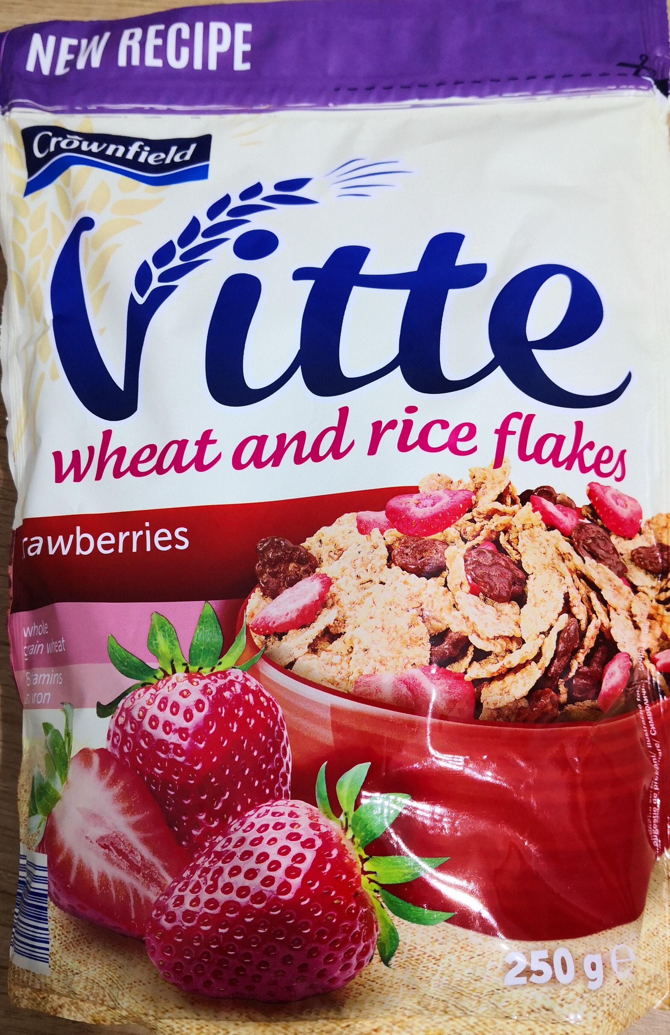 Fulgi de grâu integral și orez în glazura - Product