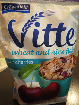 Vitte - wheat and rice flakes - Produit