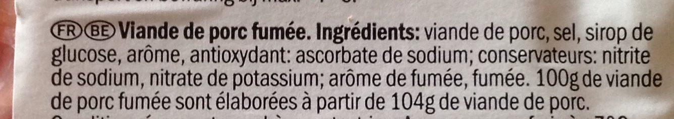 Filet De York 150 Gram (baroni) - Ingrédients