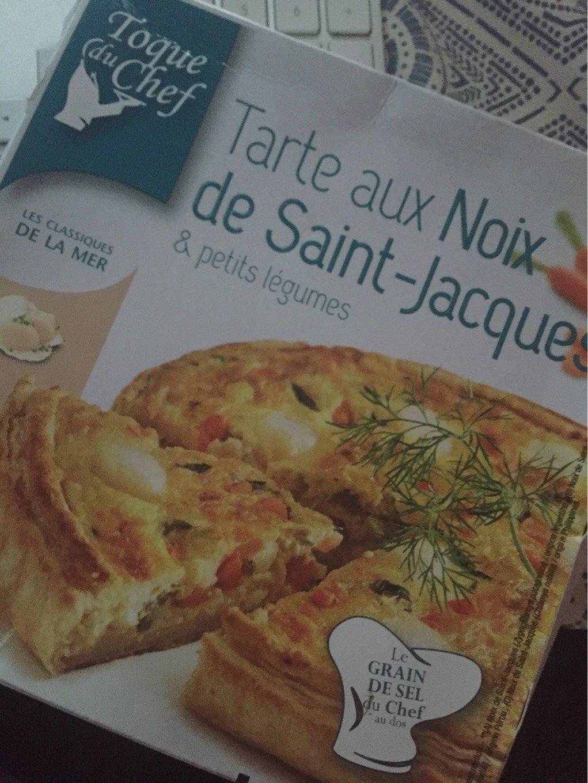 Tarte aux noix de Saint-Jacques & petits légumes - Produit - fr