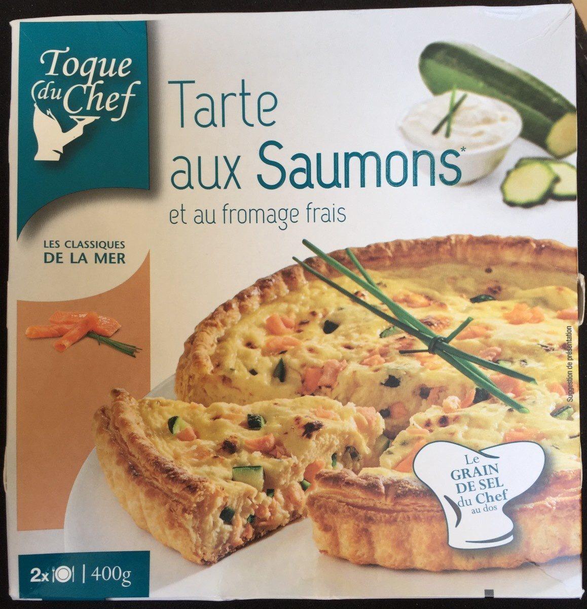 Tarte saumon et au fromage frais - Produit - fr