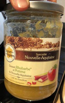 Dessert rhubarbe et Pomme - Product - fr