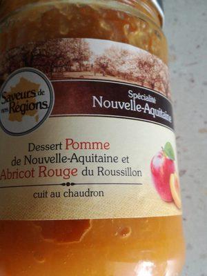 Dessert Pomme de Nouvelle-Aquitaine et Abricot Rouge du Roussillon - Product