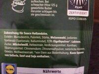 Hollandaise Sauce - Ingredienti - de