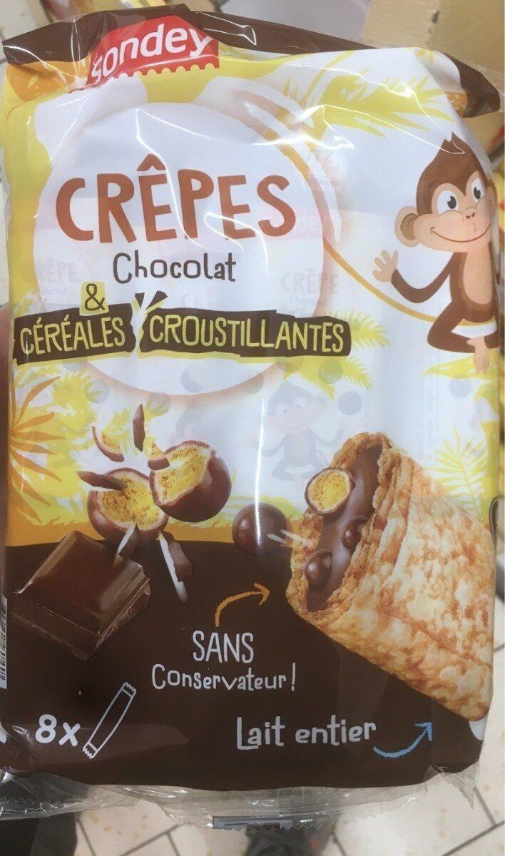 Crepe chocolat & cereales croustillantes - Produit - fr