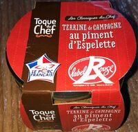 Tarrine de campage au piment d'espelette - Produit