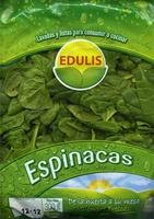 Espinacas - Producto