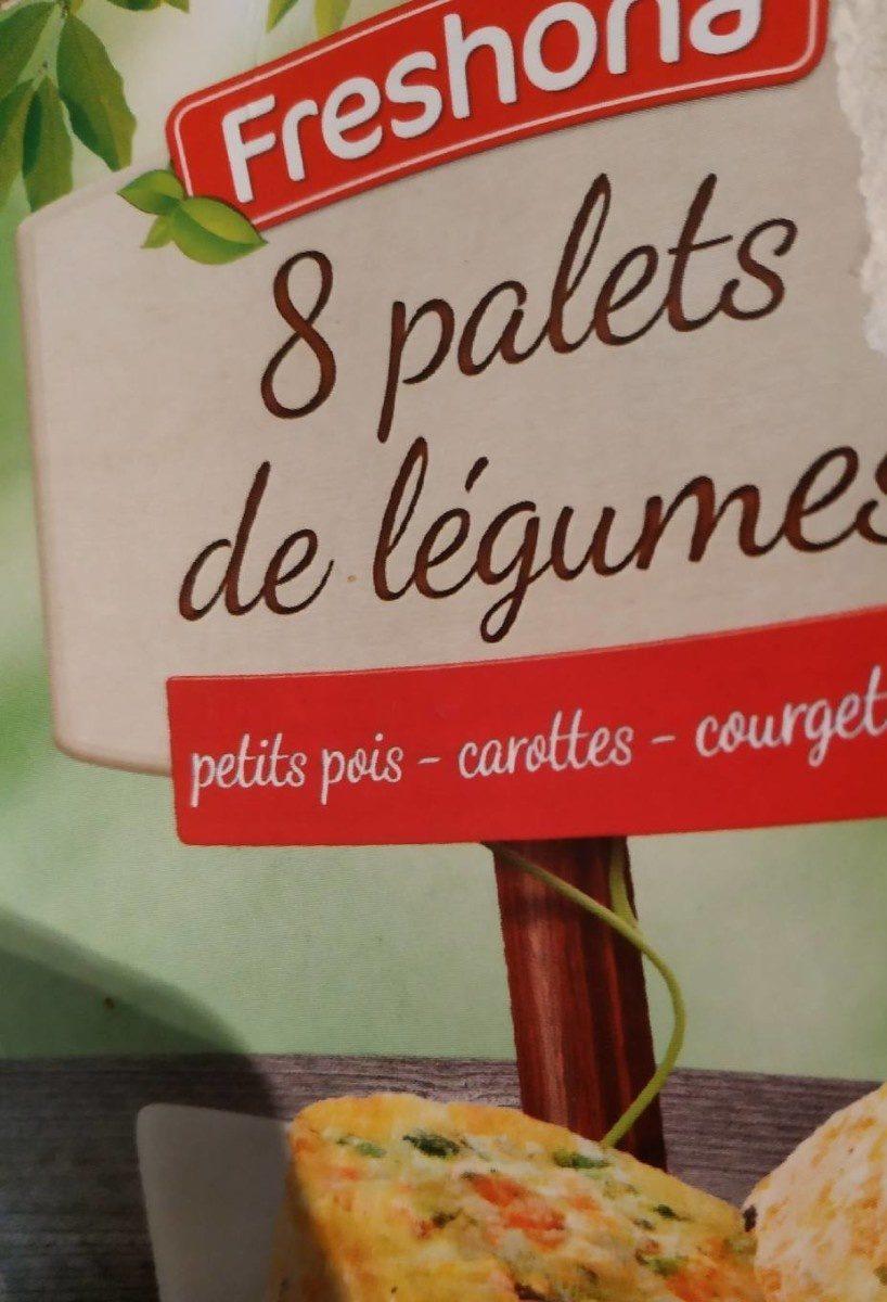 8 palets de légumes - Product - fr