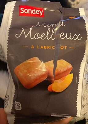 Mini moelleux à l'abricot - Product