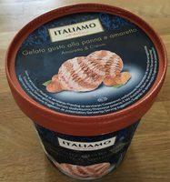 Glace Crème Et Amaretto - Produit - fr