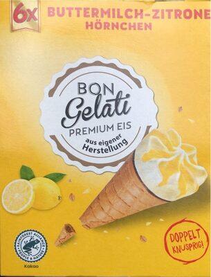 Buttermilch-Zitrone Hörnchen - Produkt - de