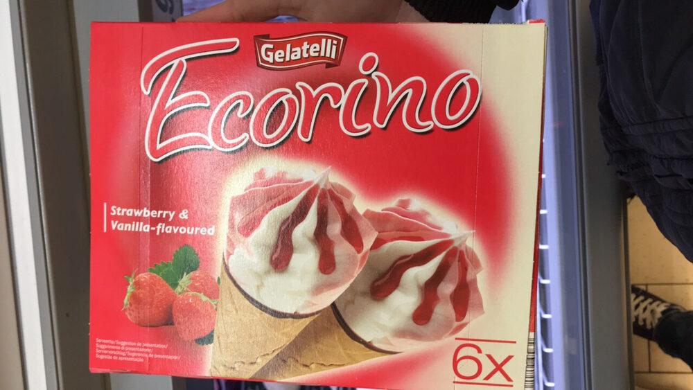 Erdbeer Vanille, Gelatelli - Producto