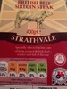 British beef sirloin steaks - Product