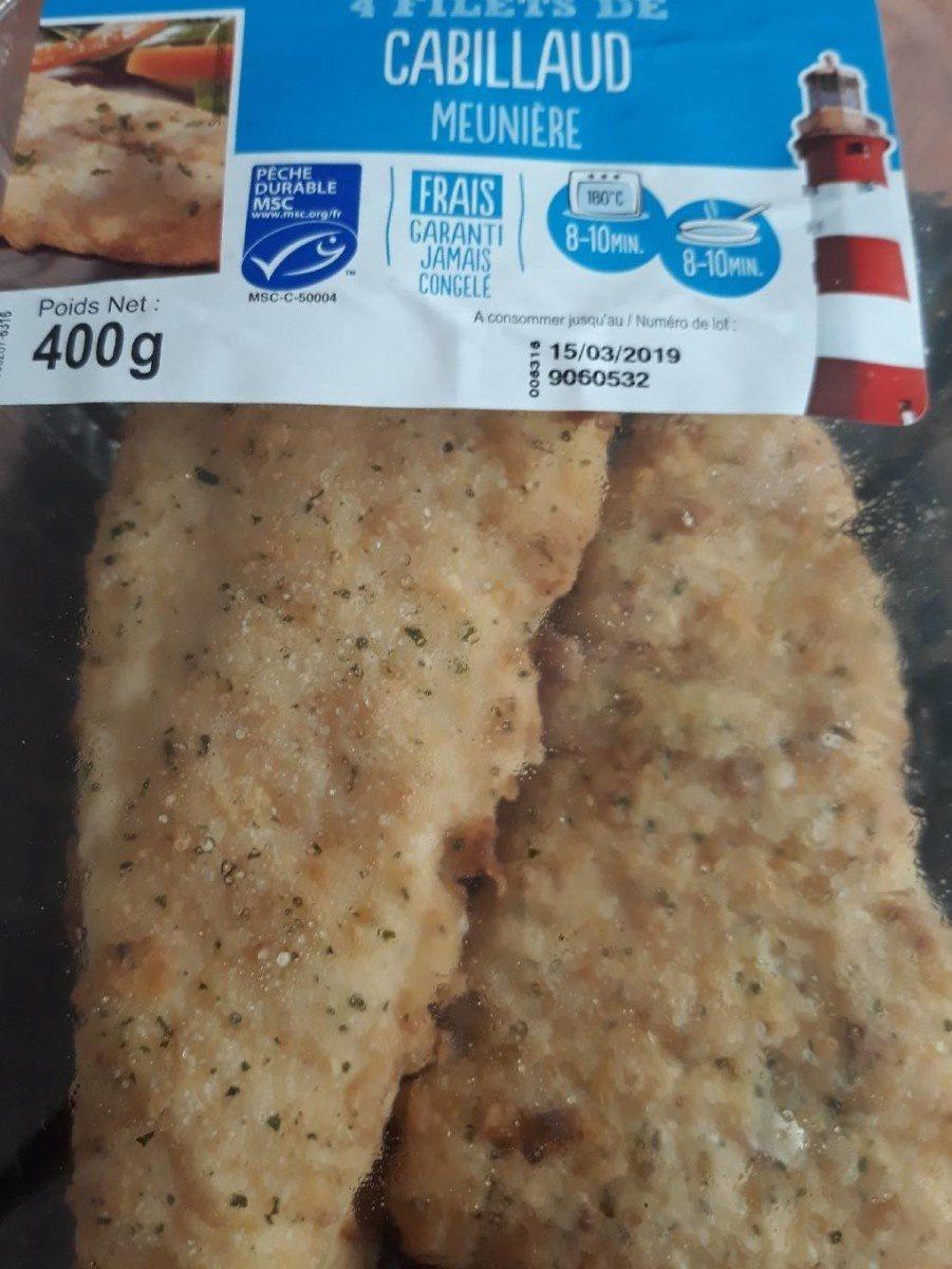 Filets de Cabillaud meuniere - Produit