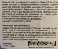 Filet de Merlan - Ingrédients - fr