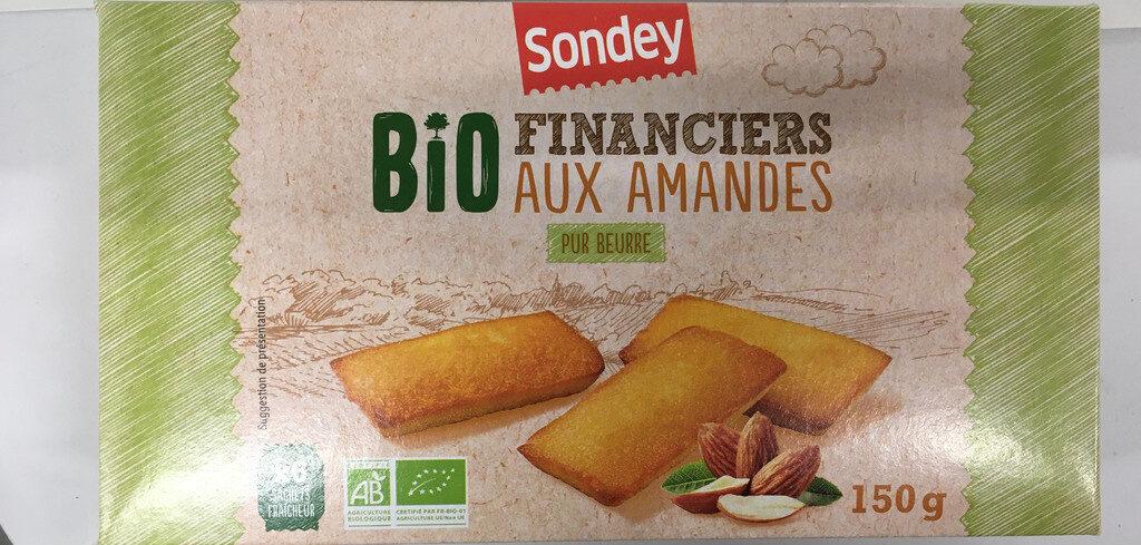 Financiers aux amandes Bio - Produit - fr