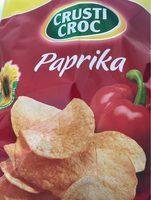 Crusti Croc Chips, Paprika - Produit