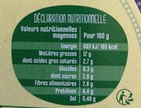Buddha Bowl Chèvre - Nutrition facts - fr