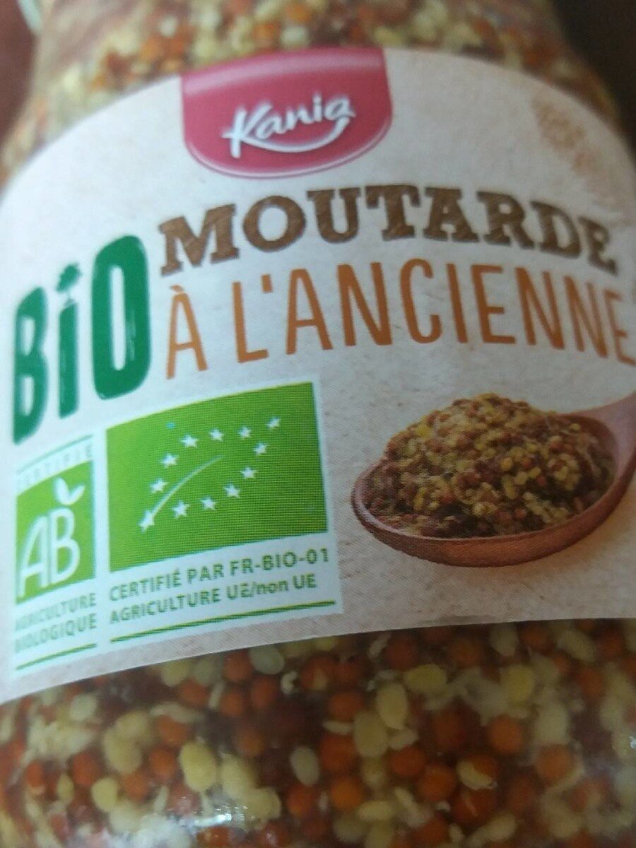 moutarde à l'ancienne bio - Prodotto - fr