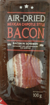 Bacon, Air-dried, Mexican Chipotle Style - Product - de