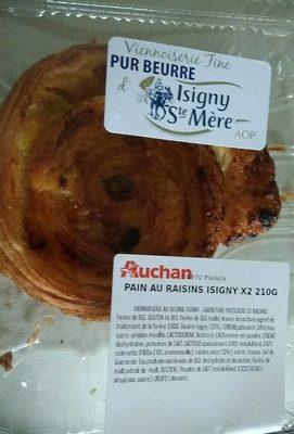 Pain au raisin isigny - Produit - fr