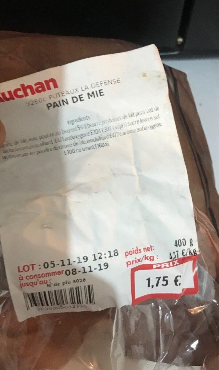 Pain de mie - Produit - fr