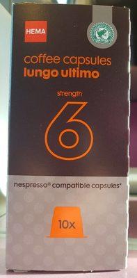 Coffee capsules lungo ultimo strength 6 - Produit - fr