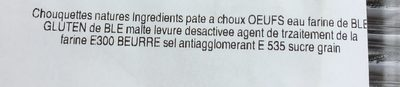 Chouquettes - Ingrédients - fr