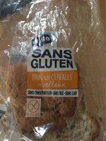 Pain cereales sans gluten - Produit