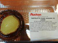 Tartelette poire amande - Produit - fr