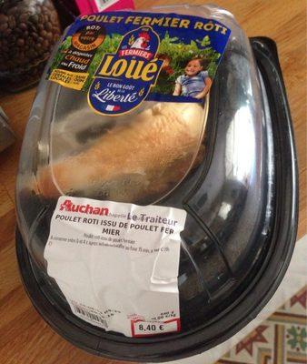 Poulet rôti issu de poulet fermier label rouge - Product - fr