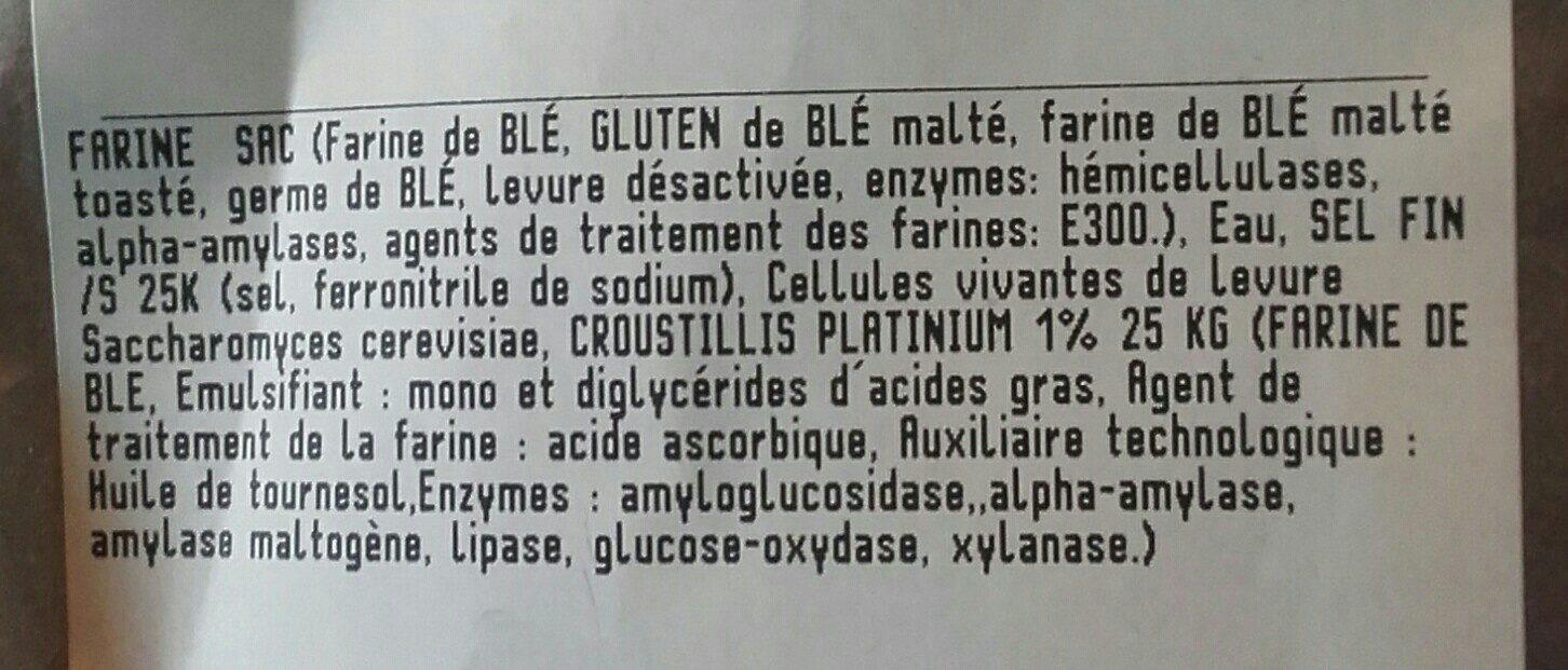 Boulot tranché - Ingrédients
