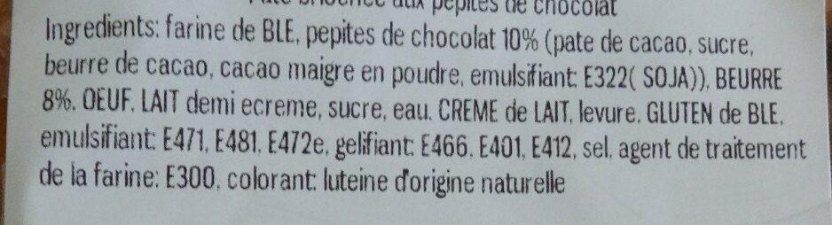 Pantin de Noël chocolat X5 - Ingredients - fr