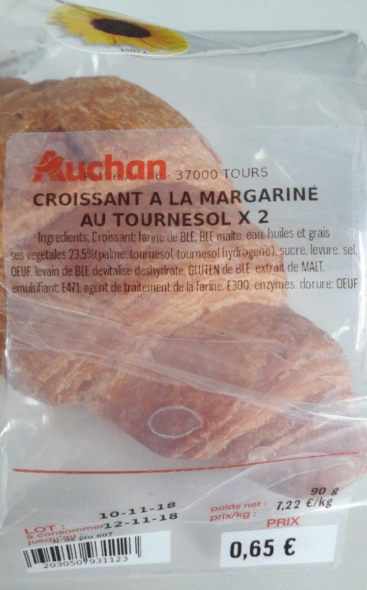 Croissants au Tournesol ×2 - Produit