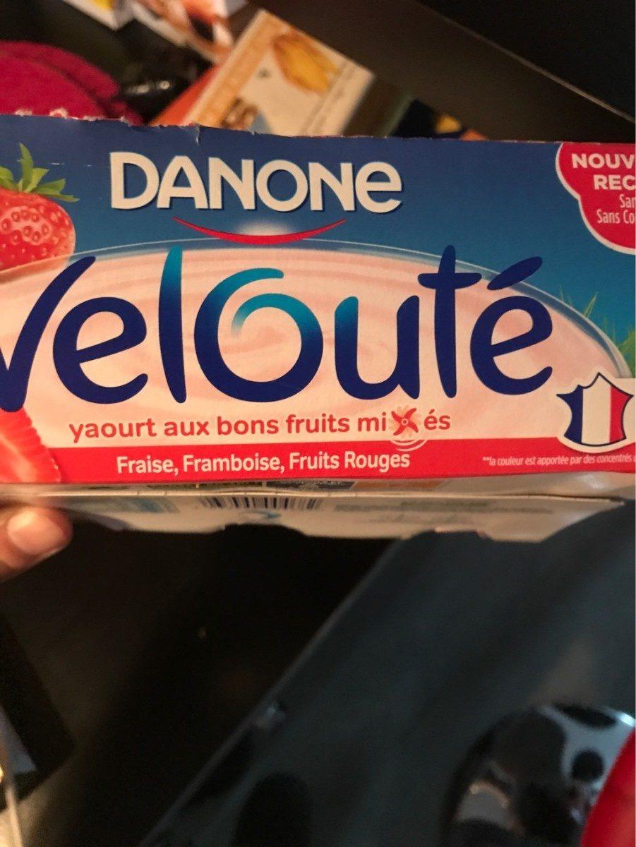 velouté Fraise, Framboise, Fruits Rouges - Prodotto - fr