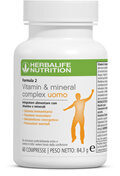 Formula 2 men multi vitaminic - Ingredients - en