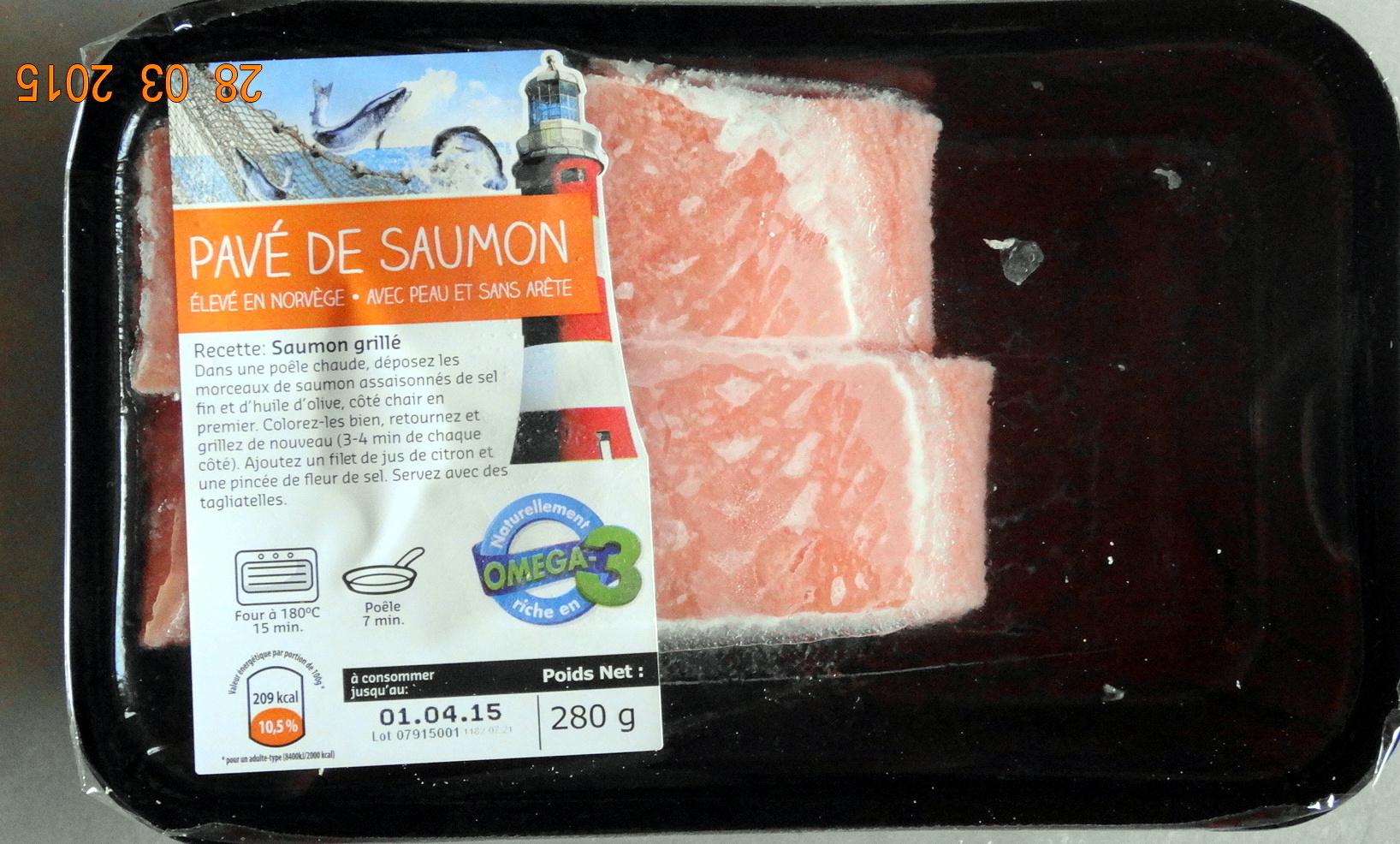 Pavé de Saumon - Produkt