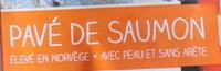 Pavé de Saumon - Ingredientes