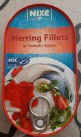 Filets de hareng dans 40% de sauce à la tomate - Prodotto - fr