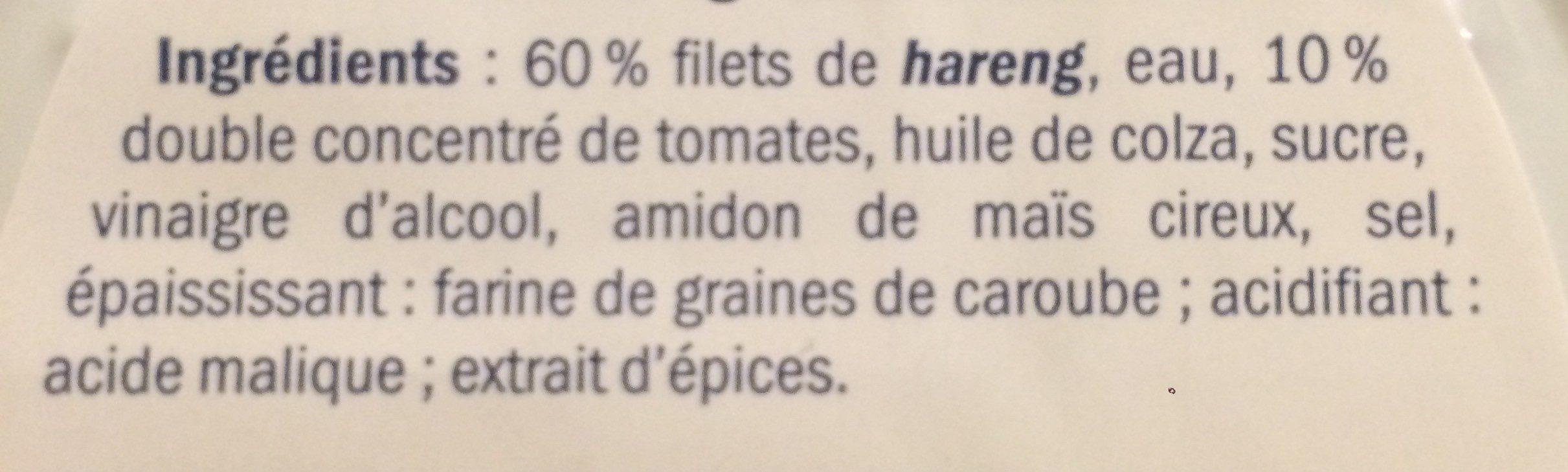 Heringsfilet In Tomatensauce / Fischerstolz - Ingrediënten