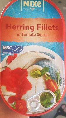 Filets de hareng dans 40% de sauce à la tomate - Valori nutrizionali - fr