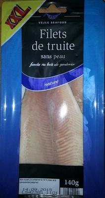 Filets de truite sans peau fumée au bois de genévrier nature (XXL) - Product - fr