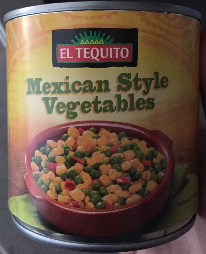 Mexican Style Vegetables - Produit