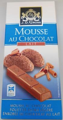 Mousse au chocolat lait - Produit