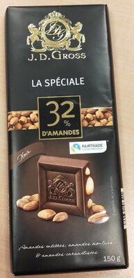 La spéciale 32% d'amandes - Product - fr