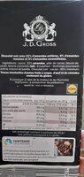 La spéciale 32% d'amandes - Ingredients - fr