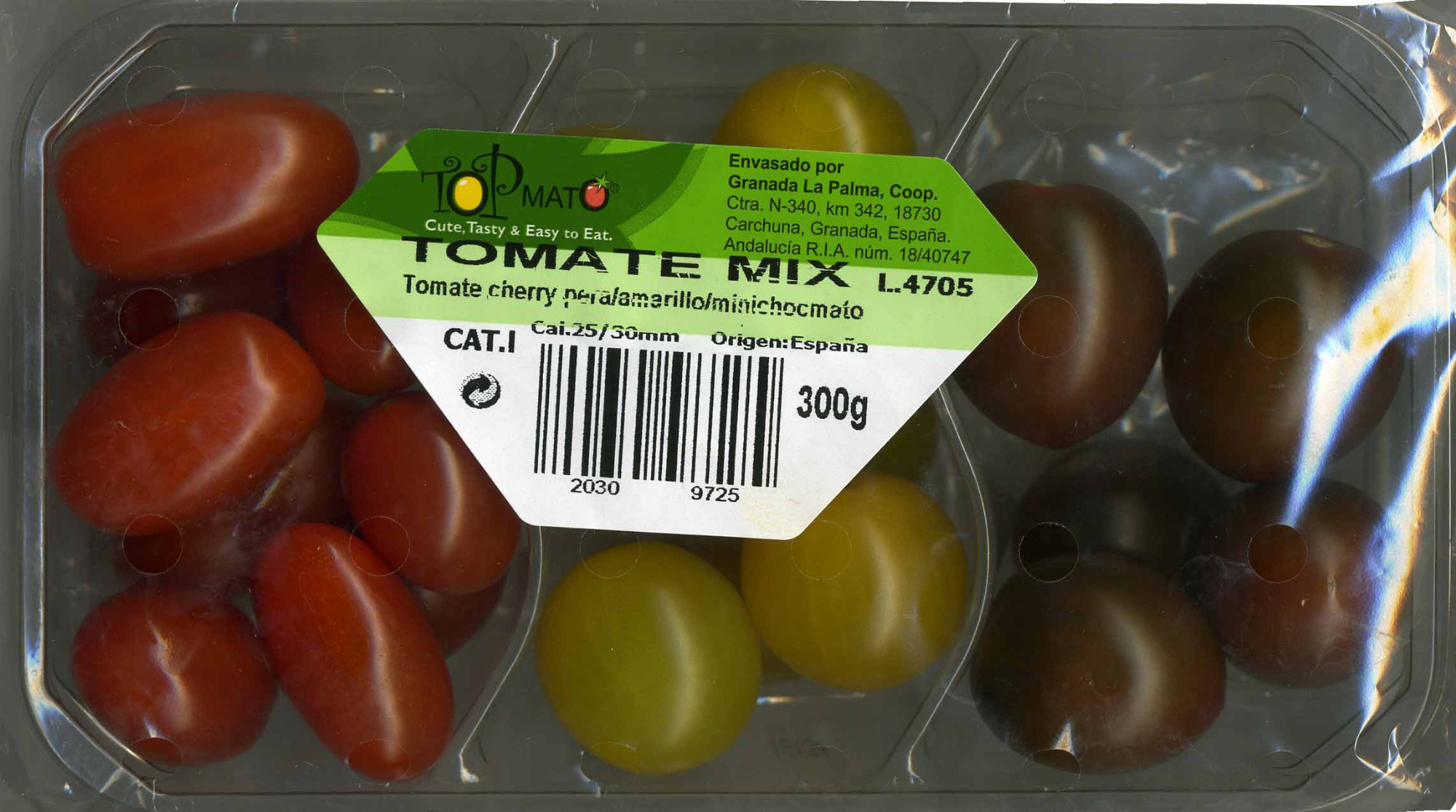 Tomates cherry mix - Produkt