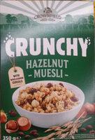 Crunchy hazelnut musli - Продукт - bg